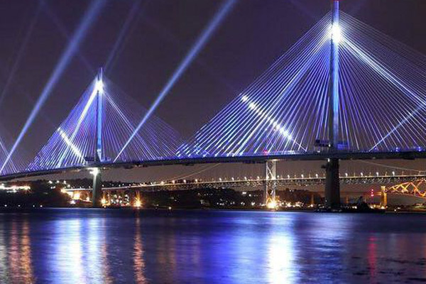 Queensferry Crossing: New Bridge To Open Across The Firth Of Forth