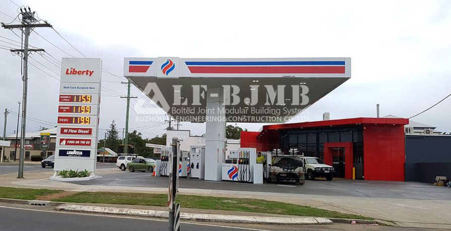 AUSTRALIE LIBERTY GAS STATION